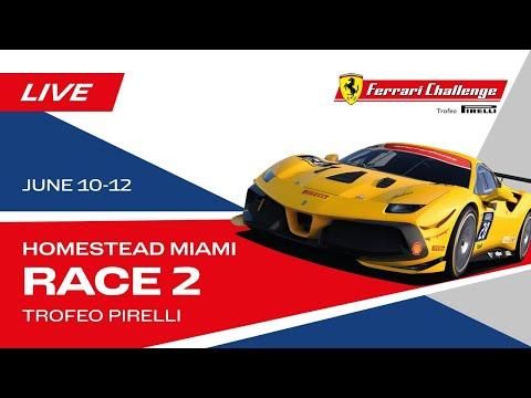 フェラーリチャレンジ2021 マイアミ Race1のフル動画