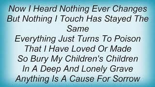 Swans - Jane Mary Cry One Tears Lyrics
