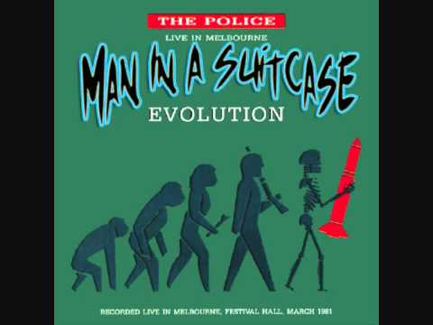The Police  Man in a suitcase