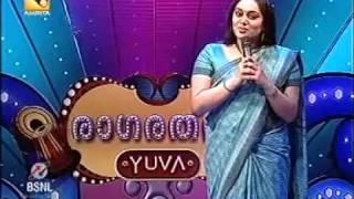 Sudha Ranjith introduction as celibrity judge raga ratnam yuva.mp4