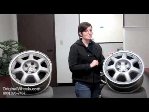 Eclipse Rims & Eclipse Wheels - Video of Mitsubishi Factory, Original, OEM, stock new & used rim