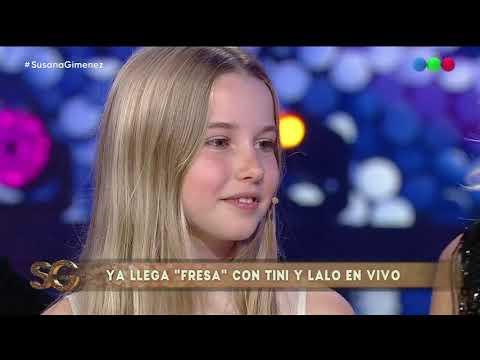 Valeria Mazza contó detalles de su relación con sus hijos - Susana Giménez 2019