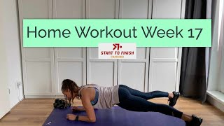 Home workout week 17