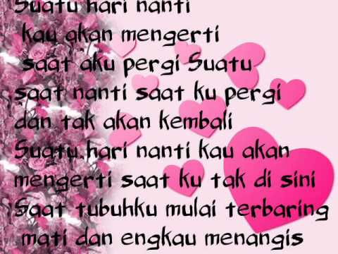 Wonder Boy-Suatu Hari Lyric Mp3