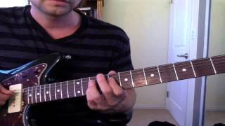 """Guitar Lesson: """"Disorder"""" by Joy Division (from Unknown Pleasures) - Easy How To Tutorial"""