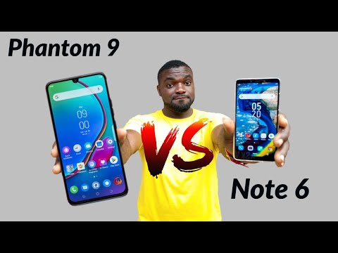 TECNO PHANTOM 8 VS INFINIX ZERO 5 FULL COMPARISON - игровое видео