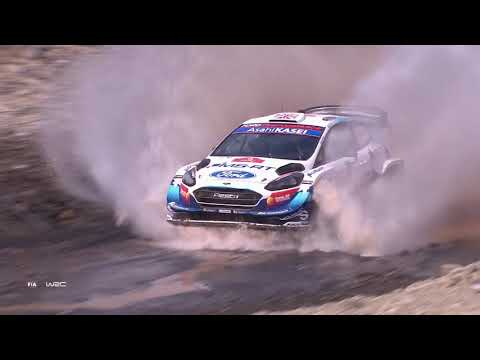 WRC ラリー・ターキー(トルコ)。Sports Ford WRTがグラベルを激走する土曜日のダイジェスト動画