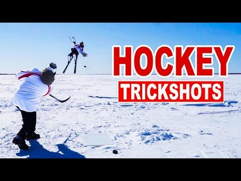 Hockey Trick Shots with How To Hockey | SweetSpotSquad