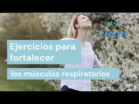 Ejercicios respiratorios post covid