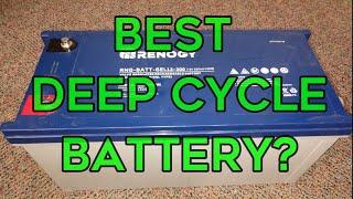 Best Deep Cycle Battery? - Renogy 200 AH Deep Cycle Gel Battery Review