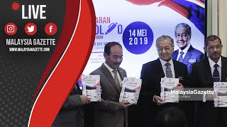 MGTV LIVE    Perdana Menteri, Tun Dr Mahathir Mohamad di Majlis Pelancaran myPortfolio.