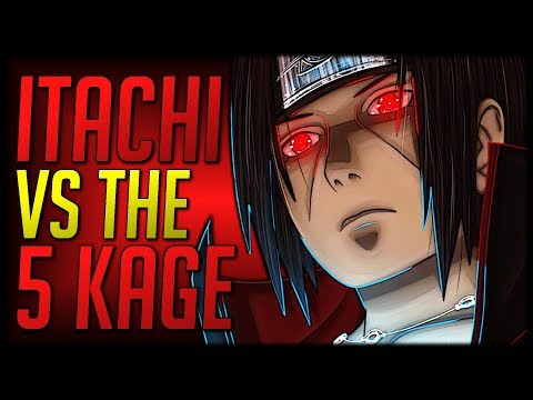 Could Itachi beat the 5 Kage?