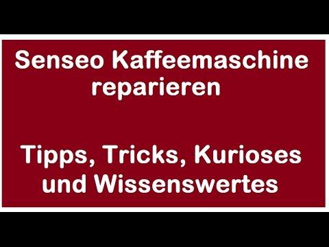 Senseo reparieren - Blinkt trotz vollem Wassertank - Reparatur Anleitung für Wasser Tank