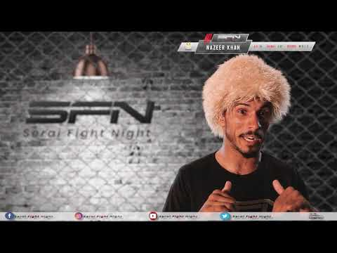 Nazeer Khan | Exclusive Interview | Zalmi TV presents Serai Fight Night 2019 | MMA