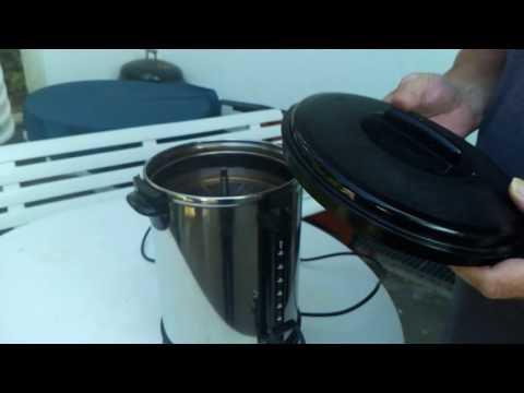 Bedienung der Gastro Kaffeemaschine