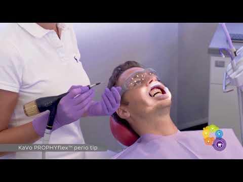 Komplette Prophylaxe Behandlung / Professionelle Zahnreinigung (VIDEO DE)