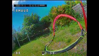 New 2S Qaud Garden Practice | FPV Racing
