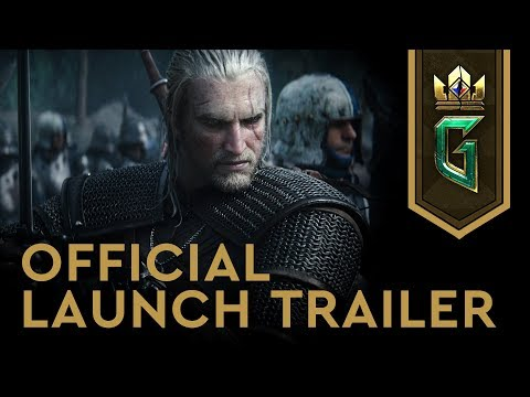 Gwent: The Witcher Card Game Official PC Launch Trailer