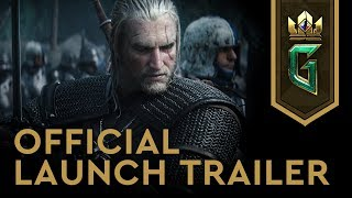 GWENT: The Witcher Card Game   Official Launch Trailer