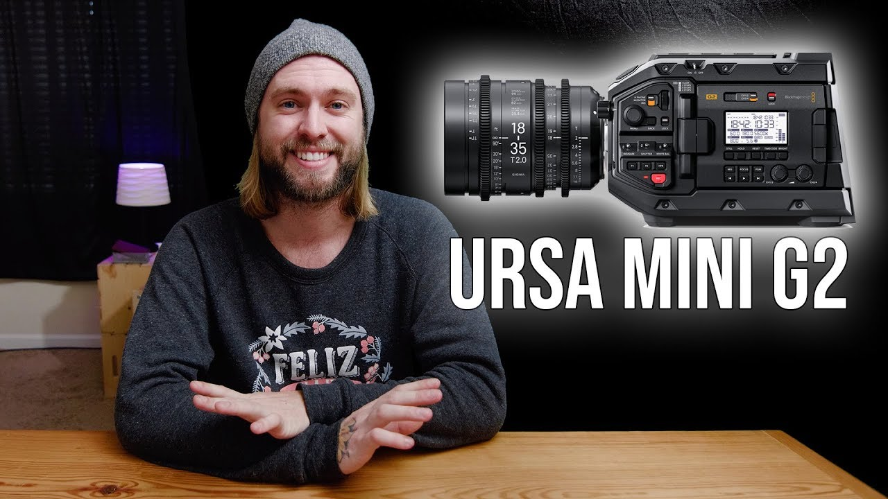 מצלמת וידאו Blackmagic URSA Mini Pro 4.6K G2