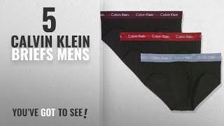 Top 10 Calvin Klein Briefs Mens [2018]: Calvin Klein Underwear Mens Cotton Stretch 3P Hip Brief
