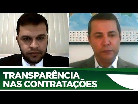 Charlles Evangelista fala da  transparência nas contratações feitas pelo poder público - 23/06/20