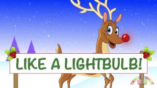 RUDLOPH the RED NOSED REINDEER - Alternative and fun lyrics. Christmas Songs.