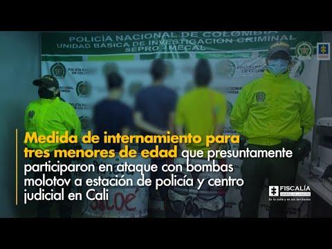 Fiscal Barbosa: Medida de internamiento para menores que presuntamente participaron en ataque en Cali