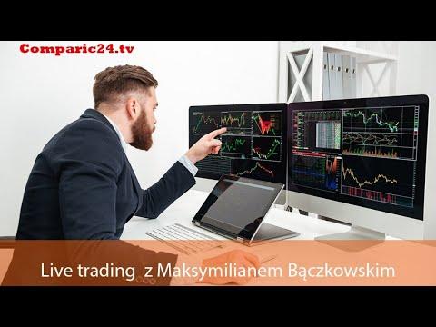 Live Trading - Trading na żywo z Maksymilianem Bączkowskim odc. 22 | 19.09