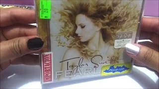 Taylor Swift - Fearless CD + Fearless Platinum Edition CD+DVD UNBOXING