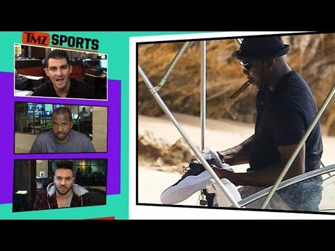 Michael Jordan Rocks Mystery Jordans On Barbados Vacation I TMZ SPORTS