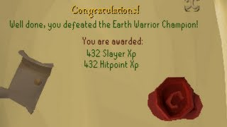 Runescape 2007 | One of the first Champion Scrolls?