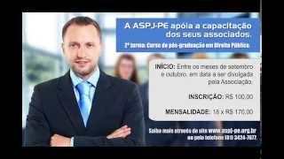 2ª TURMA PÓS-GRADUAÇÃO ASSOCIADOS ASPJ-PE