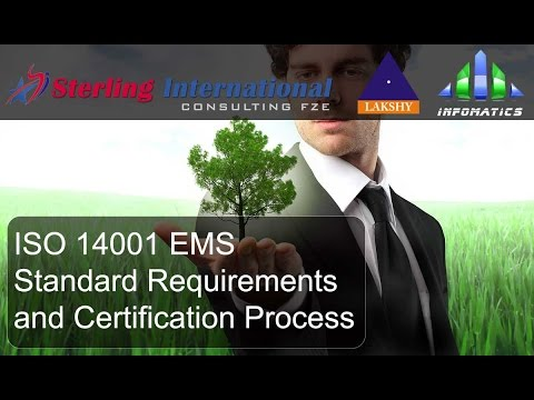 ISO 14001 EMS certification requirements presentation - YouTube