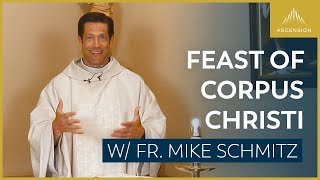 Feast Of Corpus Christi - Mass With Fr. Mike Schmitz