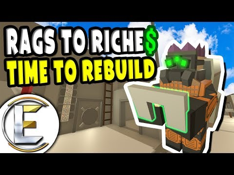 Time To Rebuild | Unturned Roleplay Rags to Riches Reboot #16 - Found A Huge Berry Farm (RP)