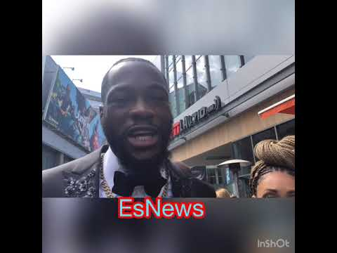 Deontay Wilder Baddest Man On The Planet HEAVYWEIGHT #1 Fighter EsNews Boxing