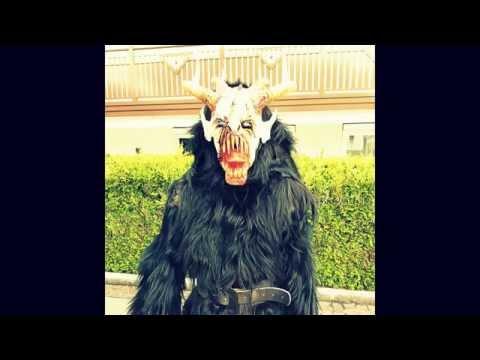 Die Maske für die Person der Gelatine und des Amylums