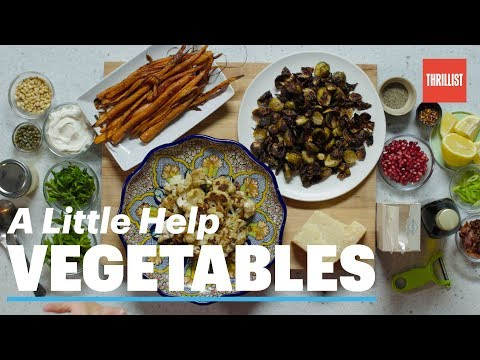 How to Roast Vegetables the Right Way || A Little Help: Roasted Vegetables