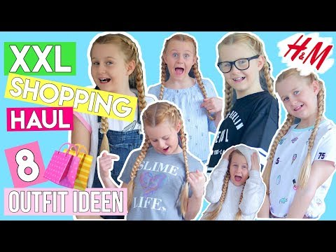8 OUTFIT IDEEN SPRING SHOPPING HAUL H&M A&F 👕 Mavie