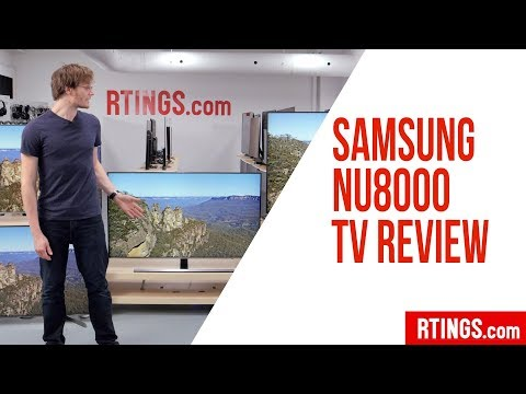 "טלוויזית סמסונג 65"" FLAT-UHD SMART TV 4K HDR Elite דגם SAMSUNG UE65NU8000"