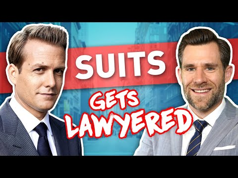 Real Lawyer Reacts to Suits (full episode)