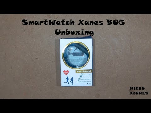 SmartWatch Xanes B05 - Unboxing