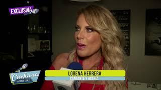 Lorena Herrera platica en exclusiva de la admiración que le tiene a su mamá I LA CUCHARA