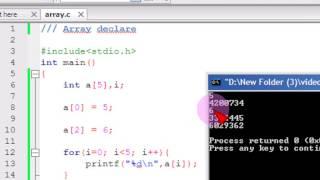 Download Youtube: Bangla C programming tutorial  44  Array Declare