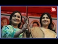 Download Video UP Ke Dil Mein Kya Hai: Dimple Yadav Campaigns For Sister-in-law Aparna