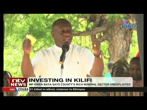 Kilifi North MP wants county assembly to pass laws that welcome investors