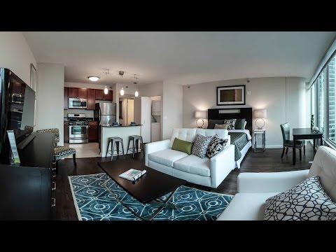 Tour A Luxury Studio Model At Aer Apartments