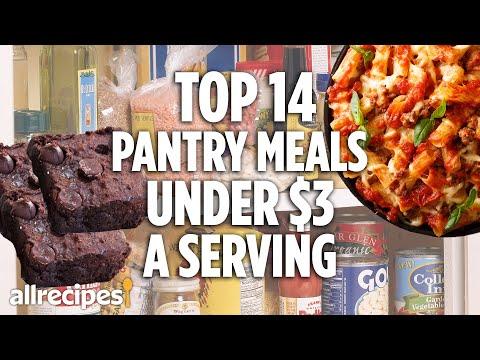 Top 14 Budget Pantry Dinners | Recipe Compilations | Allrecipes.com