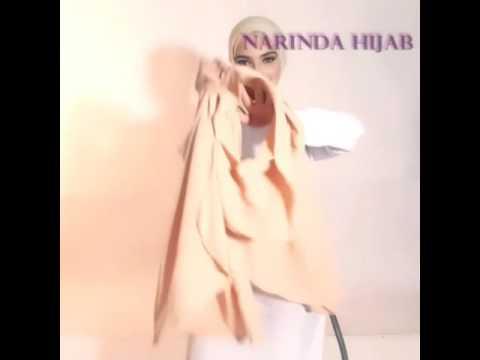 Video Tutorial hijab instan salsa by narinda
